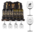 ​307 Buck Brannaman Wine Rack Display Package
